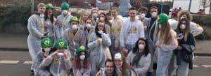 Die JUSOS Düren bei dürener Karneval