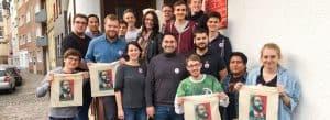 JUSOS Düren und Euskirchen bei der Wahlkampfwertsatt 2017