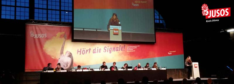 Bundeskonferenz der Jusos