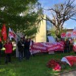 1. Mai Kundgebung in Düren Gewerkschaften