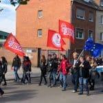 1. Mai Kundgebung in Düren Jusos Düren Jülich