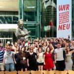 NRW Jusos auf der Unterbezirksvorsitzendenkonferenz 2018