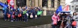 Jusos Düren feiern Karneval mit der Grünen Jugend Düren